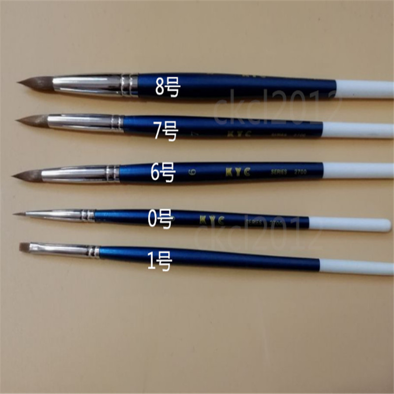 A0097 5pcs set Dental Porcelain Brush Pen Dental Lab Equipment New Free shipping