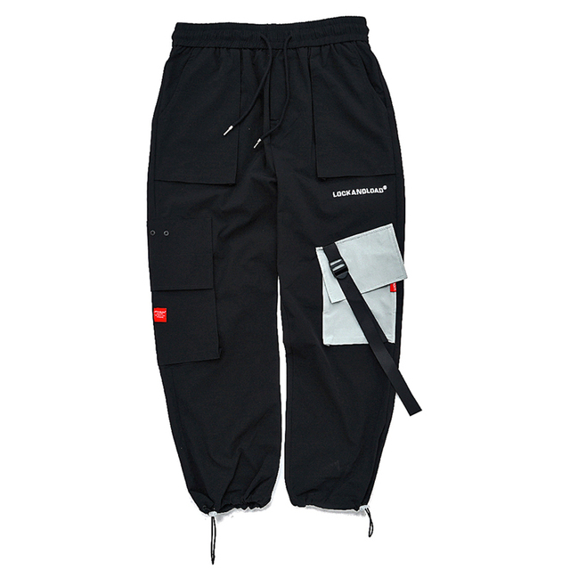 Pants Mens Casual Harem Joggers Baggy Harajuku Streetwear Hip Hop