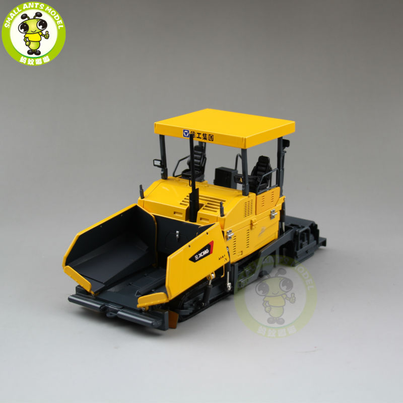 1/35 XCMG Asphalt Paver Construction Machinery Model Diecast Model Car Toy Hobby 1 35 xcmg benz construction mounted concre truck diecast metal construction vehicles toy