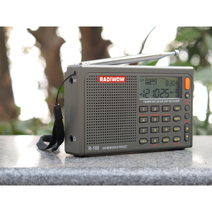 Image 5 - Radiwow SIHUADON R 108 FM Stereo Digital Portable Radio Sound Alarm Function Display Clock Temperature Speaker as Parent gift