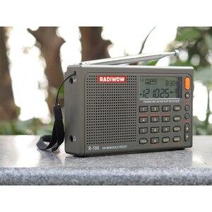Image 4 - Radiwow Sihuadon R 108 Fm Stereo Digitale Draagbare Radio Geluid Alarmfunctie Display Klok Temperatuur Speaker Als Ouder Gift