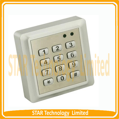 ФОТО Free Shipping Waterproof RFID Reader Access Control System Keypad + 10 ID Cards Key Fobs