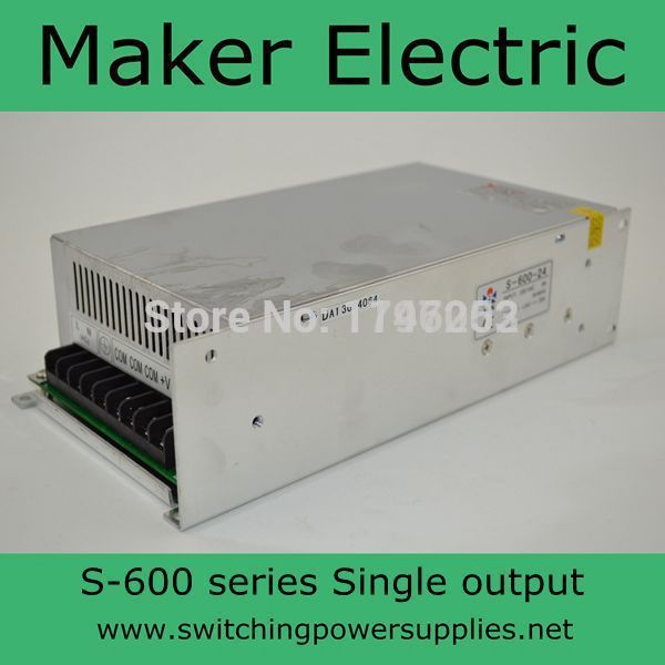 ФОТО low price high quality 600w high efficiency S-600-48 12A switching power supply 48v with ce certification
