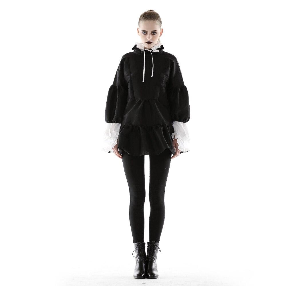 Robe d'été femmes noir Vintage belle robe mignonne manches bouffantes Kawaii robes courtes pour femme nouveau dans Chic