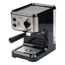 Кофеварка FIRST FA-5476-1 Black (Рожковая полуавтоматическая кофемашина, приготовление Эспрессо и Капуччино, съемный фильтр и капучинатор)