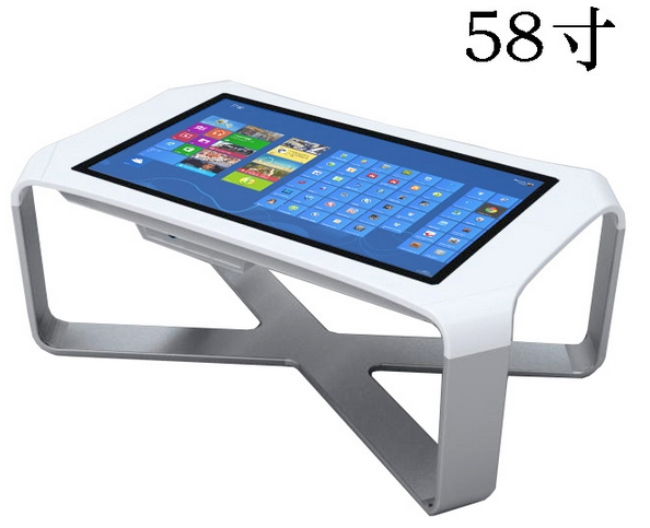 4k Display Industrial Pc Interactive Waterproof Interactive Multi Touch Screen Coffee Table