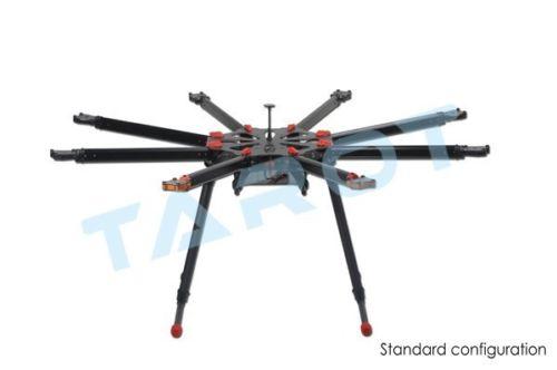 TAROT X8 TOUT le Carbone OCTA copter Kit avec Électrique rétractable landing skids set TL8X000