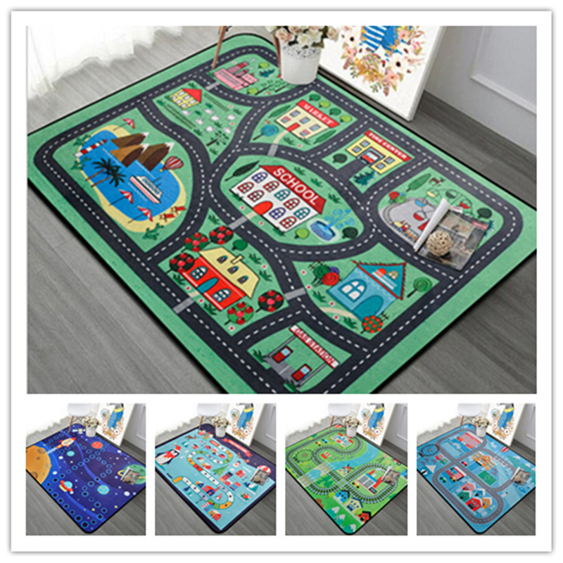 Game Kids large size Carpets baby Living Room Crawl tapete Child Bedroom Decor play Rug Bathroom