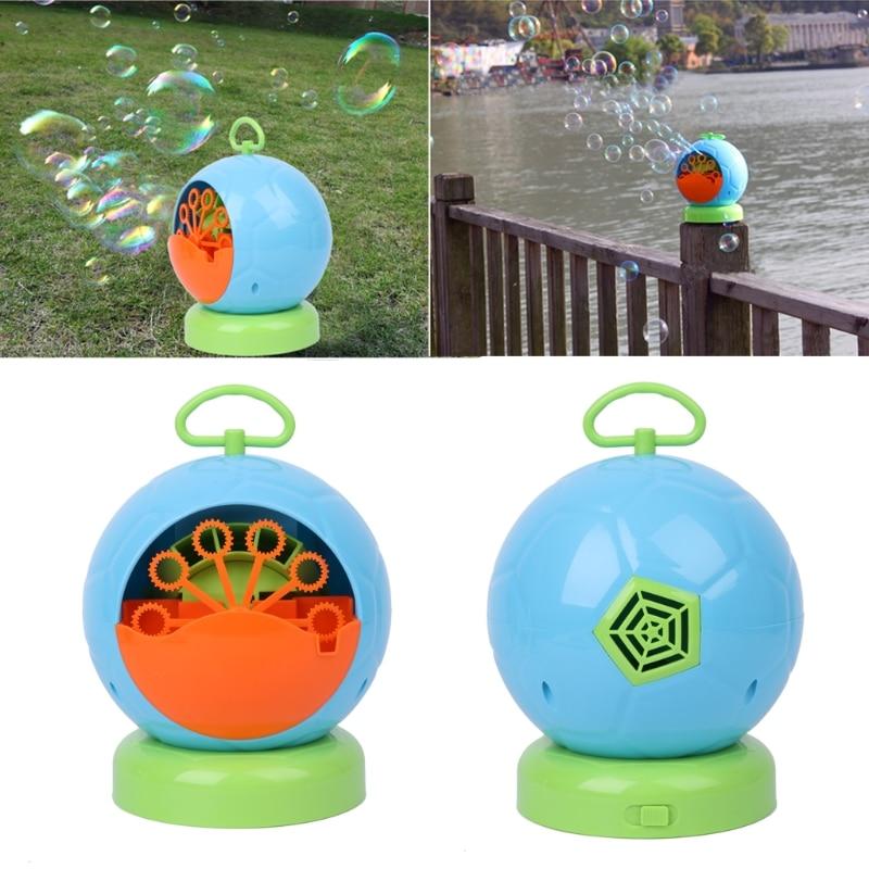 Automatic Bubble Machine Blower Maker Kids Children Indoor O