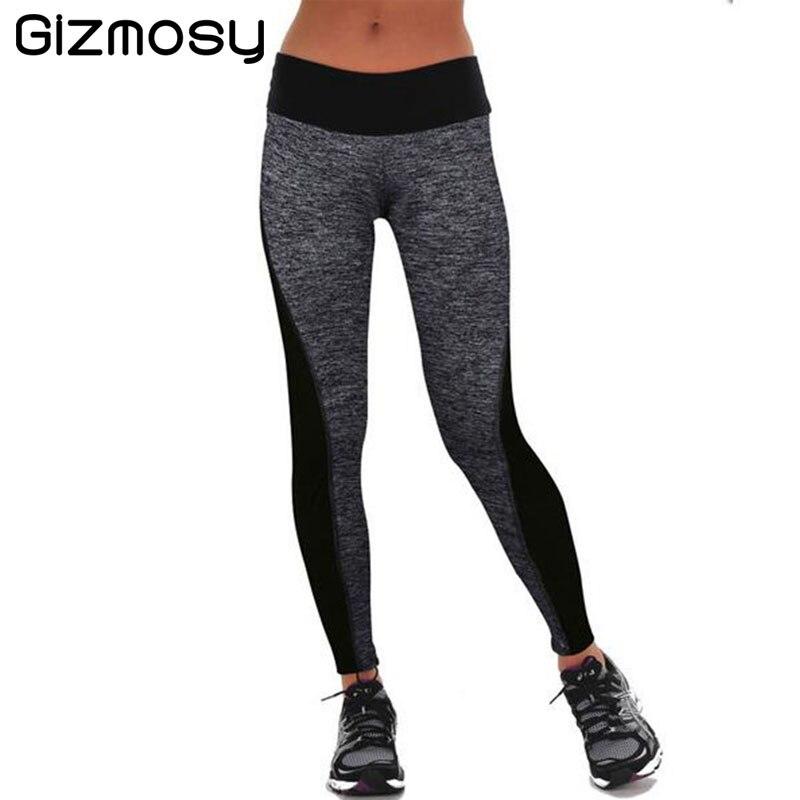 1 Pcs 2016 Women s Long Leggings Two Sided Fitness High Waist Elastic Women Leggings Workout