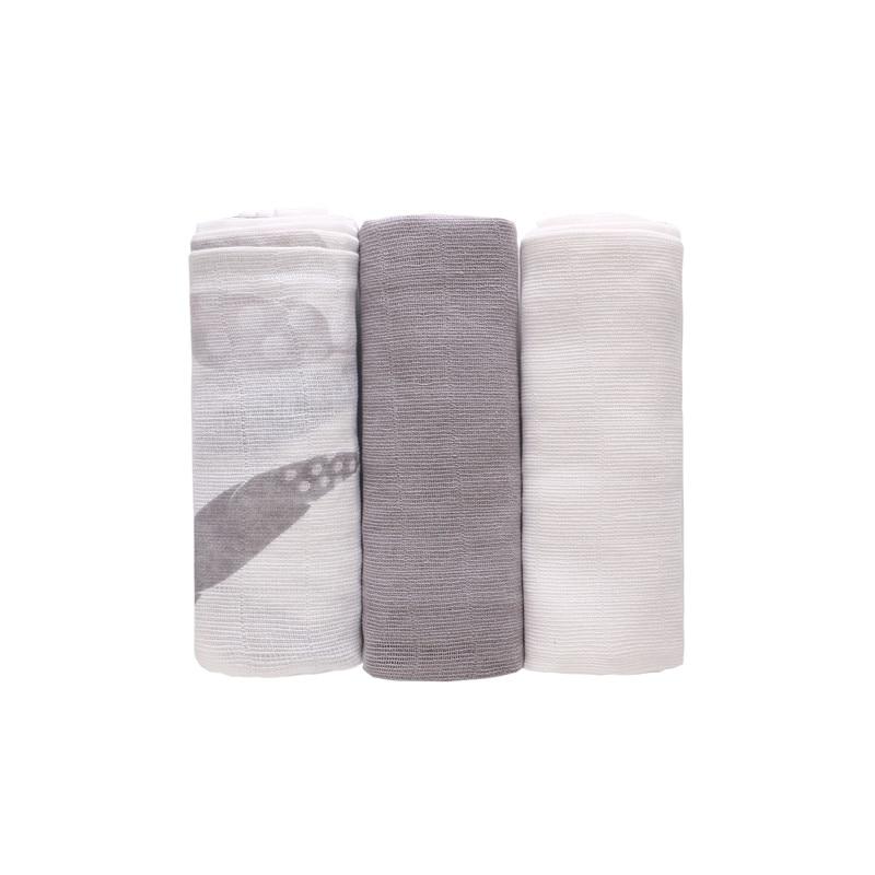 3PCS 70*70cm Baby Receiving Blanket 100% Cotton Muslin Soft Swaddle Wrap Cloth Diaper Infant Nursing Cover Bath Towel Unisex