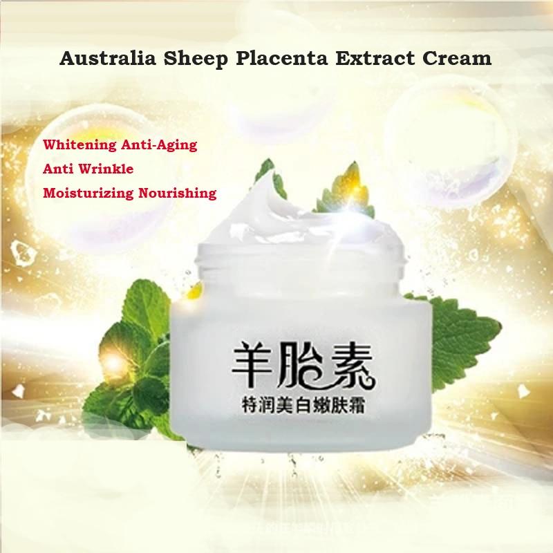Australia Sheep Placenta Extract Cream Whitening Anti-Aging Anti Wrinkle Moisturizing Nourishing Creams Beauty Face Skin Care цены