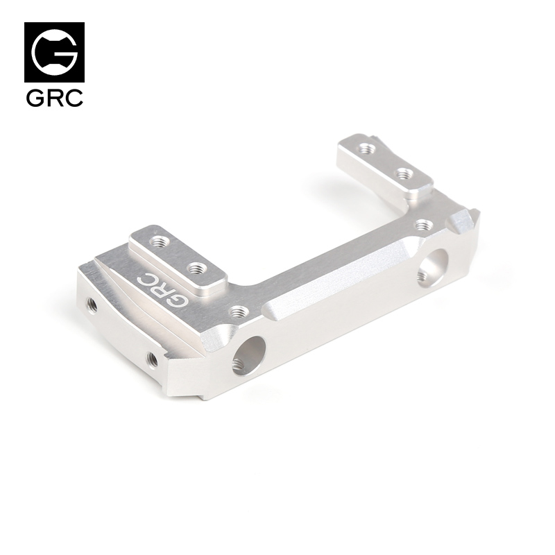 GRC 90046 metal rudder front bracket high quality competitive SCX10 90047 silvery/black  ...