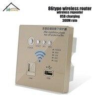 300 MBPS Na Parede Sem Fio WIFI Router para 86 padrão