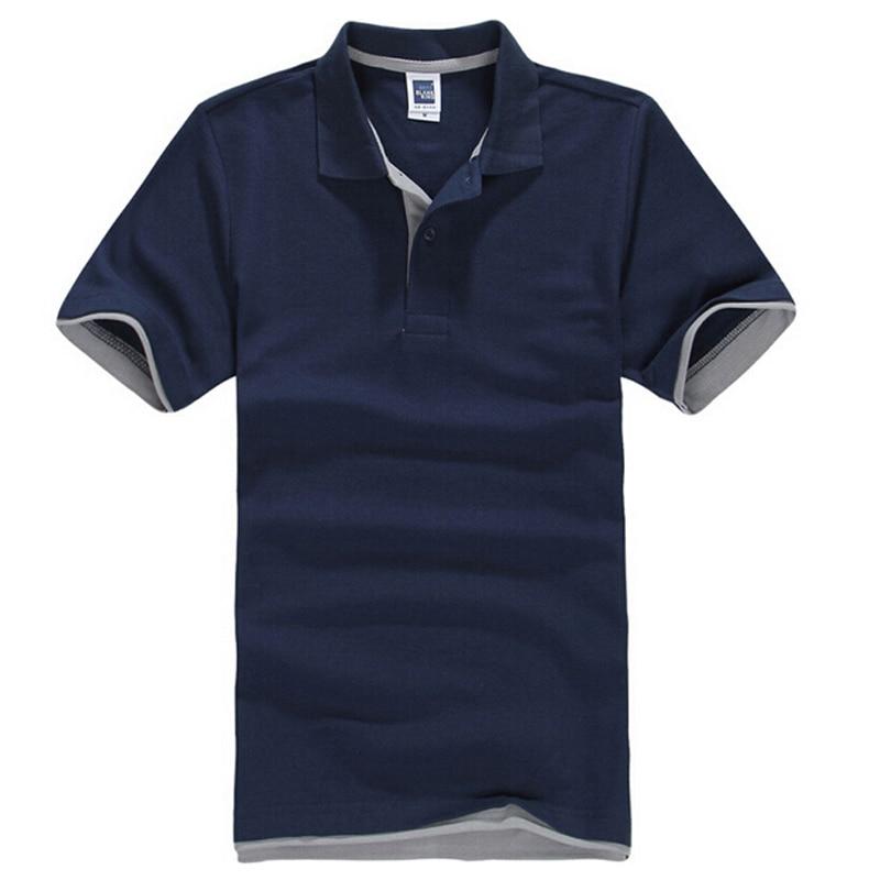 Brand New Men's   Polo   Shirt for Men Desiger   Polos   Men Cotton Short Sleeve Shirt Jerseys Golftennis Plus Size XS- XXXL