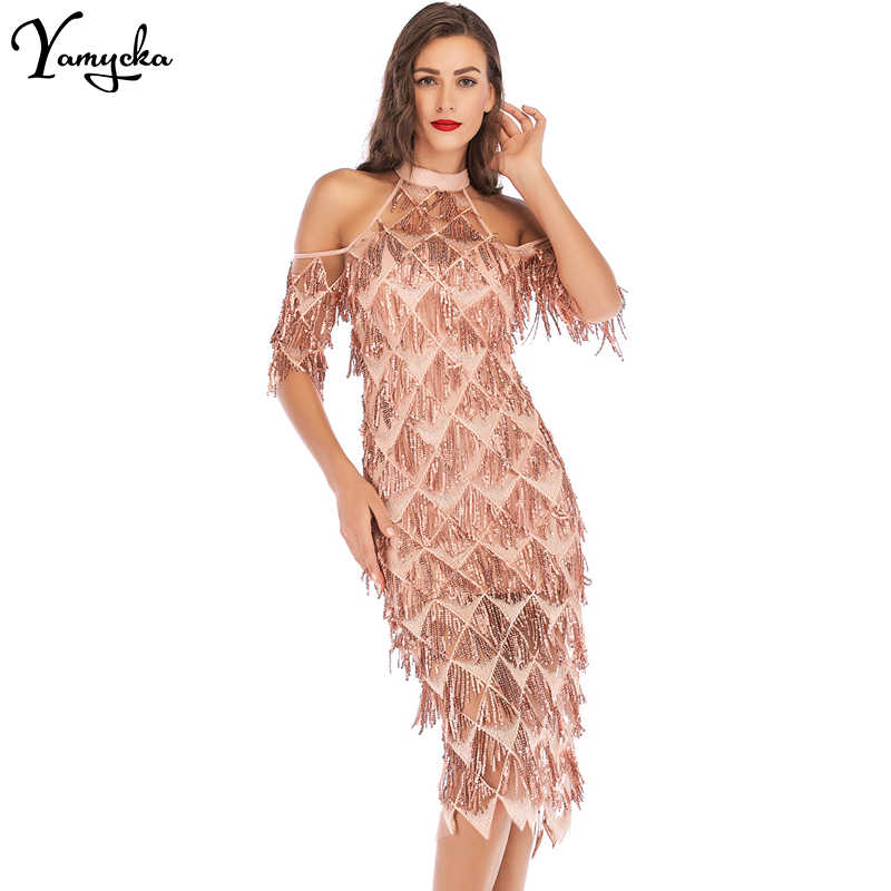 bc84142bab Sexy Off Shoulder Sequin Summer Dress women befree christmas maxi party  dress elegant bodycon Night club