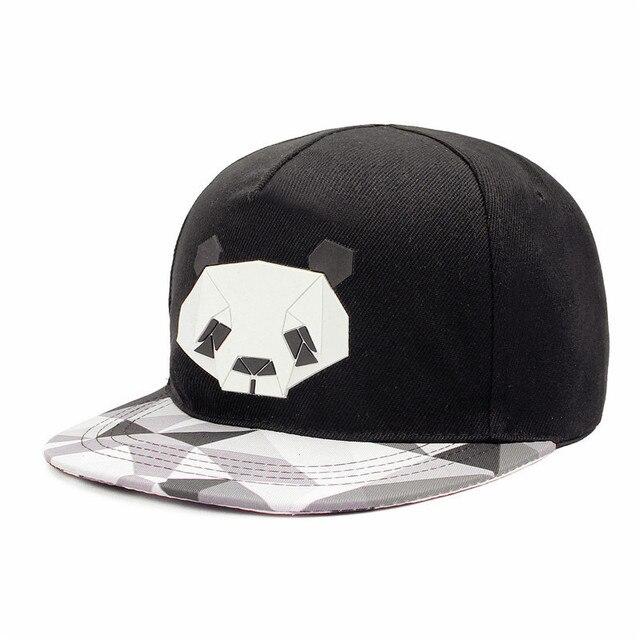 4d55839779e Hip-hop Male Ms. Cute Panda Zebra Penguin Sheep Rubber Hat Napback Flat-brimmed  Men Hat Outdoor Lovers Animal Baseball Cap