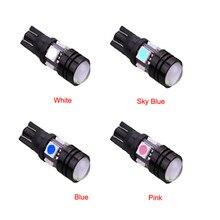 T10/W5W Высокой Мощности Алюминиевый Корпус LED Ширина Лампы Автомобиля Lamplet Двери Лицензия Лампа Знак Лампа