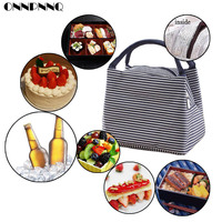 ONNPNNQ Lunch Ice Bag Pack Lunch Box Slim Lunch Packs Reusable Lunch Pack
