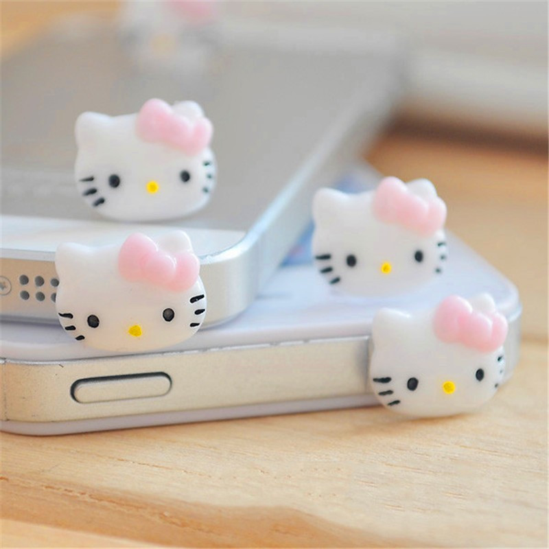 Dust Plug Mobile Phone Accessories 3.5mm Cute Cartoon Bear Design Mobile Phone Ear Cap Dust Plug For Iphone Andriod And All Of 3.5mm Headphone Hole Handsome Appearance