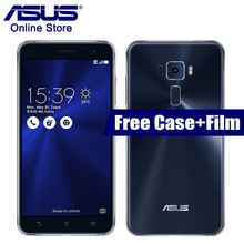 В наличии Asus Zenfone 3 ZE552KL 5.5 дюймов Qualcomm Android 6.0 4 ГБ 64 ГБ Octa Core 2.0 ГГц 16.0MP камера Dual SIM мобильный телефон