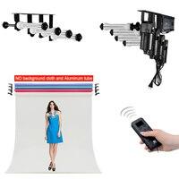 Фото студийное оборудование Studio 4 ролика стены/потолочный моторизованный Электрический фоновая фотография система поддержки