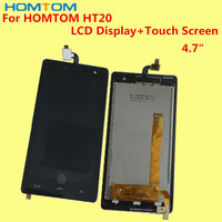 100 Original For HOMTOM HT20 4 7 LCD Screen Display Touch Screen Tools Replacement Accessories For