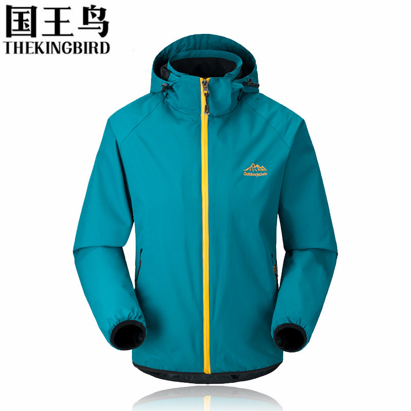 Spring and Autumn Men's Outdoor Jackets Wind and waterproof ...