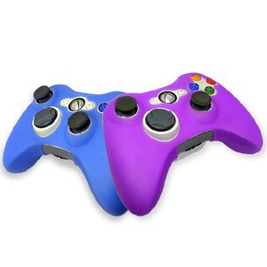 Image 5 - 10 Colors Joystick Gel Skin Silicone Cover for XBOX 360 Wireless Game Controller Case Cover silicona Free Shipping