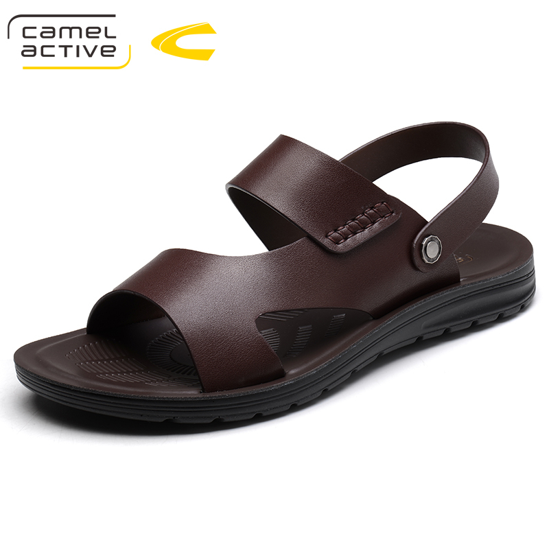 Camel Active 2018 New Summer Shoes Fashion Summer Sandals Style PU Leather Male Sandals Men Shoes Casual Shoes For Man 18101