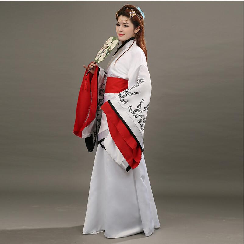Chinese ancient costume Royal Queen clothes fairy hanfu Han tang Song Ming Dynasty suits empress Clothing Folk Dance Hanfu Dress