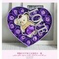 Caliente venta del precio bajo oso de peluche rosas colores de la mezcla flor color de rosa del día de san valentín y Teacherr regalos del día del envío
