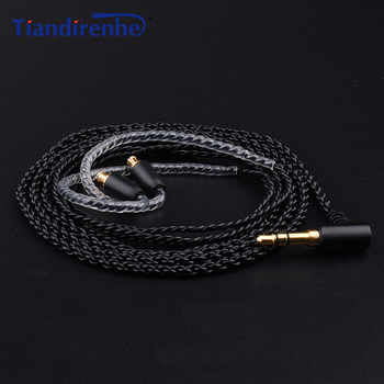 A2DC Kabel untuk ATH E40 LS70 LS50 LS200IS E70 ATH-CKR100 CKS100is Earphone Headphone Headset Kabel untuk iPhone Android IOS