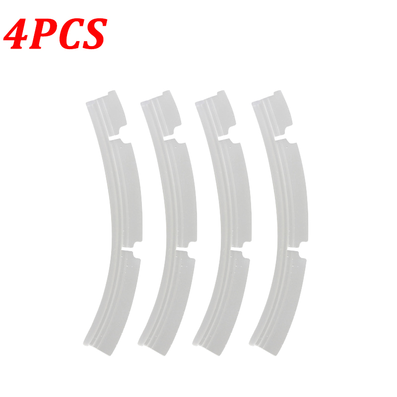 4PCS Silicone Blades For Neato Combo Brush XV-21 XV Signature Pro XV-11 XV-12 XV-14 Automatic Vacuum Cleaner Replacement Parts