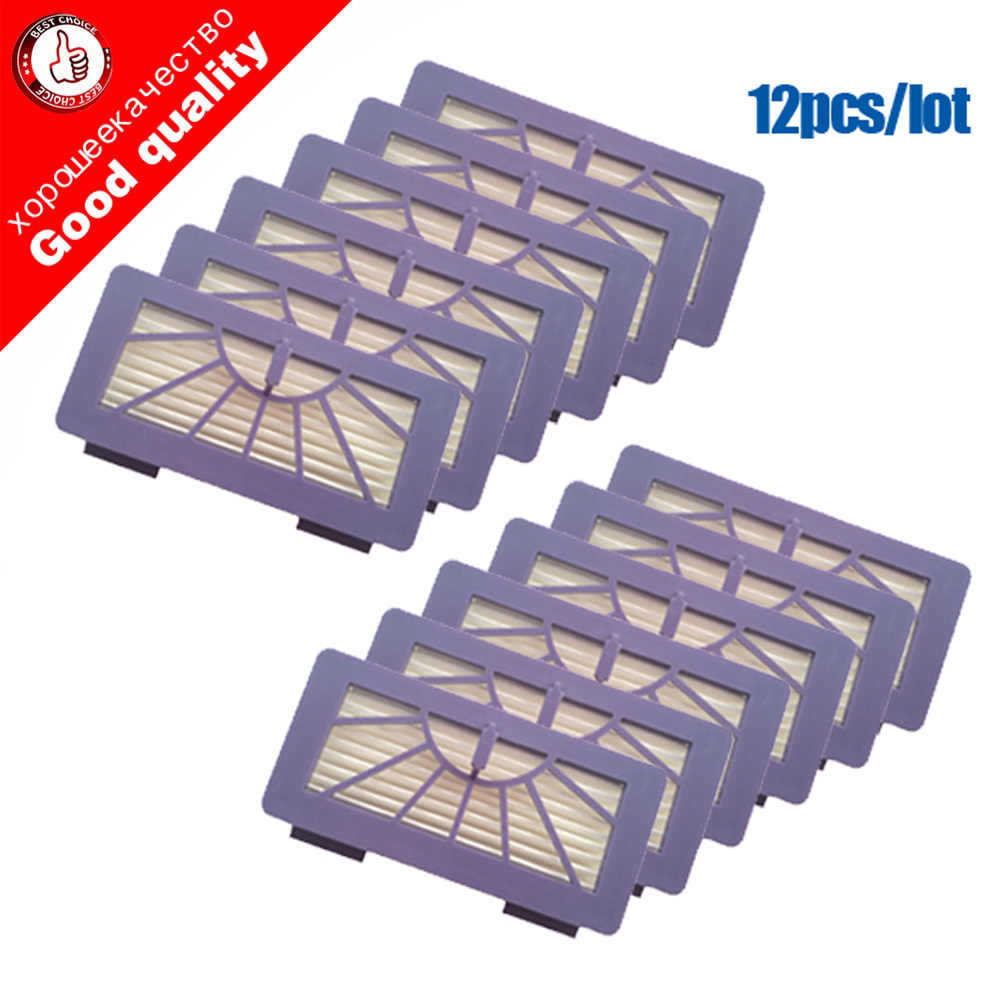 12 pcs/lot Replacement Neato Filter for XV-21 XV Signature XV Signature Pro XV-11 XV-12 945-0048 XV-15 Pet Allergy Cleaner Parts