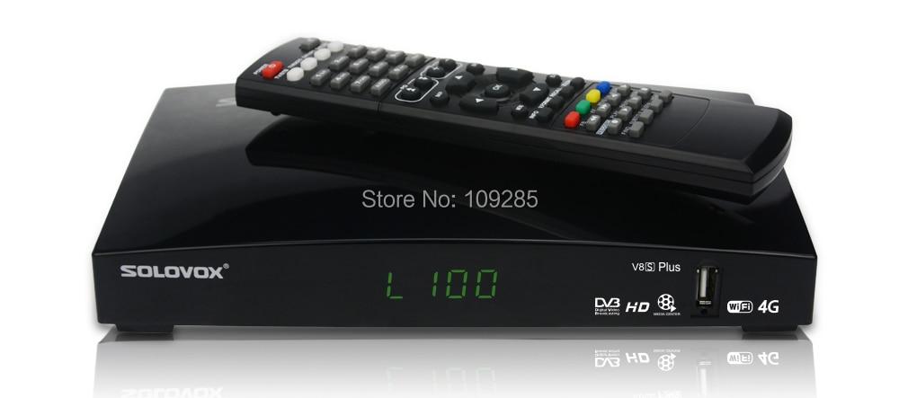 Solovox V8S Plus 1080P HD PVR FTA Satellite Receiver wifi adapter