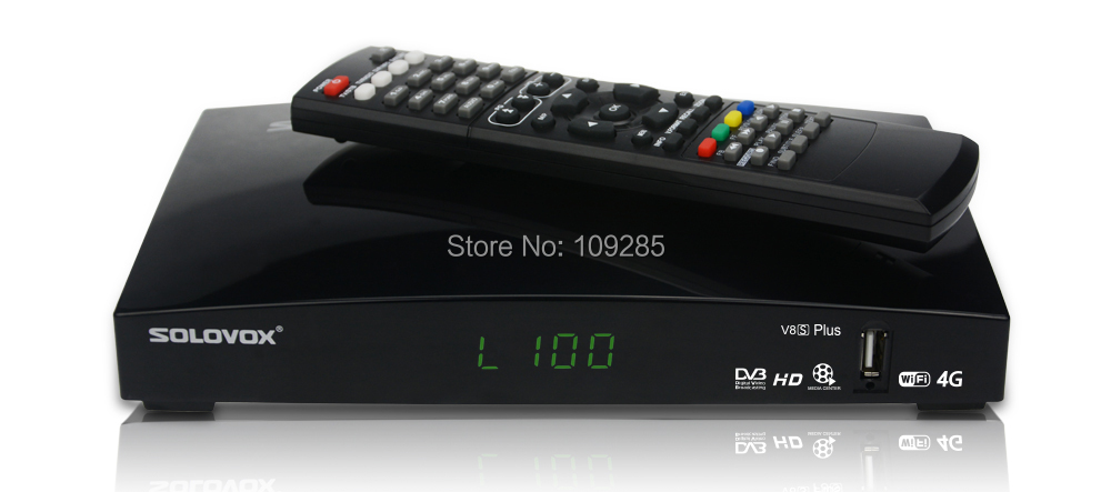Solovox V8S Plus 1080P HD PVR FTA Satellite Receiver
