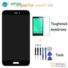 XIPUAI for Xiaomi Mi5 100% New LCD display + Touch Panel Replacement for Xiaomi mi 5 Prime / Pro 5.15inch Free Shipping