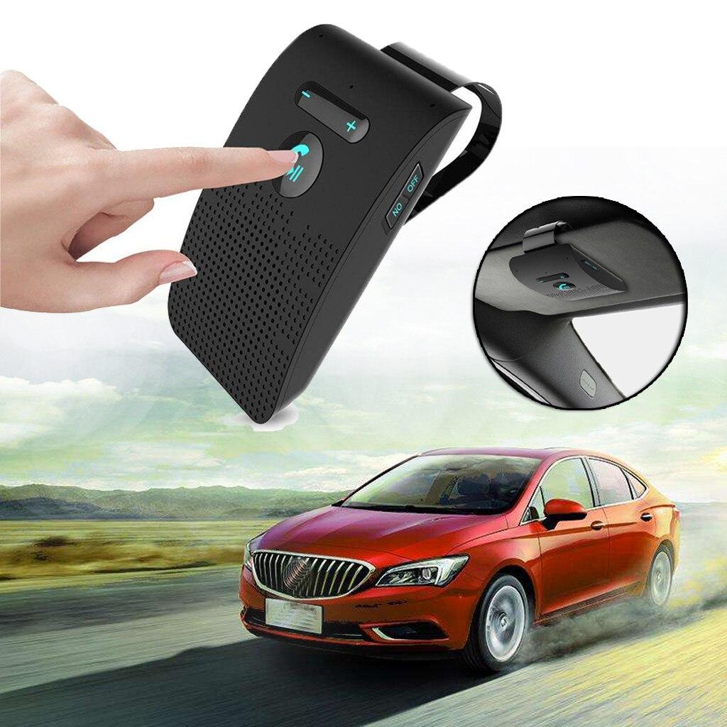 New Universal Bluetooth Car Kit Wireless Handsfree Speaker Phone Visor For Phone