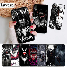 Lavaza Marvel Venom Villain Silicone Case for iPhone 5 5S 6 6S Plus 7 8 11 Pro X XS Max XR