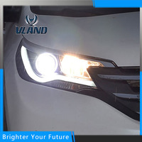 Car Styling Led Head Lamp For Honda CR V 2012 2014 Headlight Assembly DRL Bi Xenon