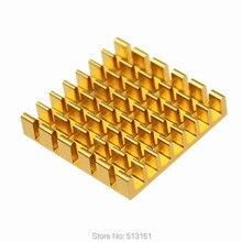 50 Pieces/Lot 25*25*5mm Heat Sink Cooler Radiator Cooling Aluminum Heatsinks