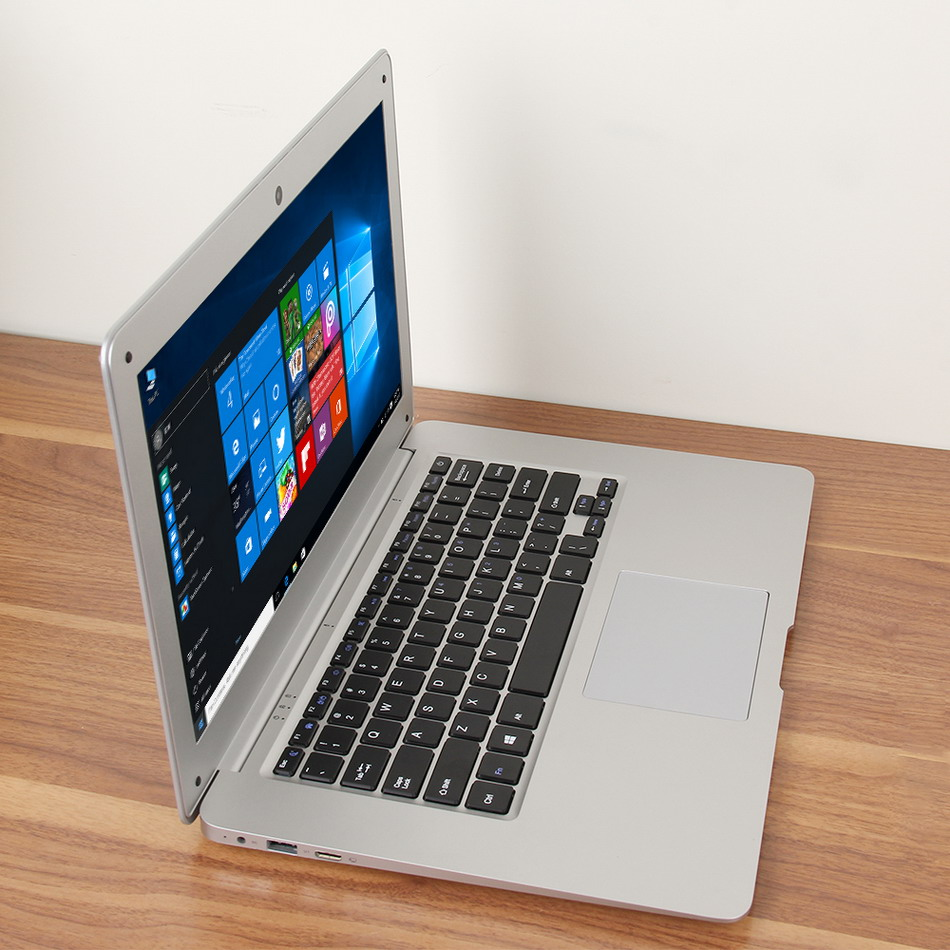 Jumper EZbook 2 A14 Laptop 14.1 Inch Windows 10 Ultrabook 1920 x 1080 FHD Display Intel Cherry Trail Quad Core Z8300 4GB RAM 64GB eMMC ROM Bluetooth Ultraslim Notebook Computer (8)