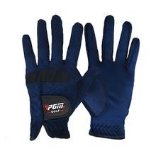 Мужские перчатки для гольфа с правой и левой стороны, перчатки из абсорбирующей ткани из микрофибры, мягкие дышащие перчатки, Новое поступление