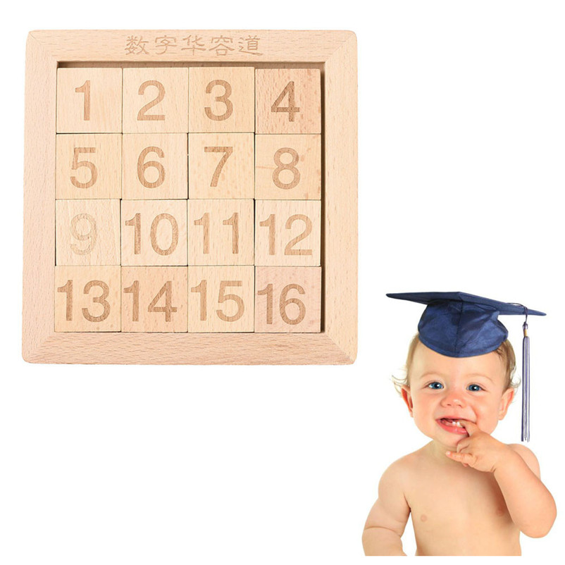 2018 New Educational Baby 15 Number Puzzle slide Game Jigsaw Interesting Toy kids Toy Play Gift Game Fashion games P5