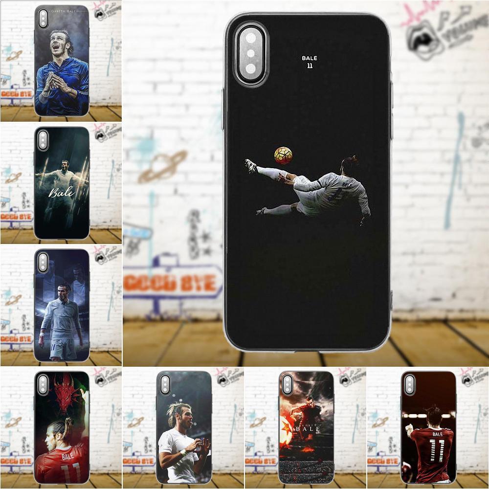 For Apple iPhone 4 4S 5 5C 5S SE 6 6S 7 8 Plus X For LG G3 G4 G5 G6 K4 K7 K8 K10 V10 V20 Transparent Soft Shell Gareth Bale Gb11