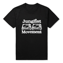 Junglist Movement DJ t-shirt