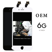 ФОТО 20pcs display for iphone 6 4.7'' in white screen digitizer assembly complete lcd+camera holder