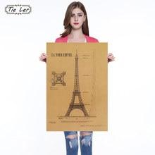 póster París RETRO VINTAGE