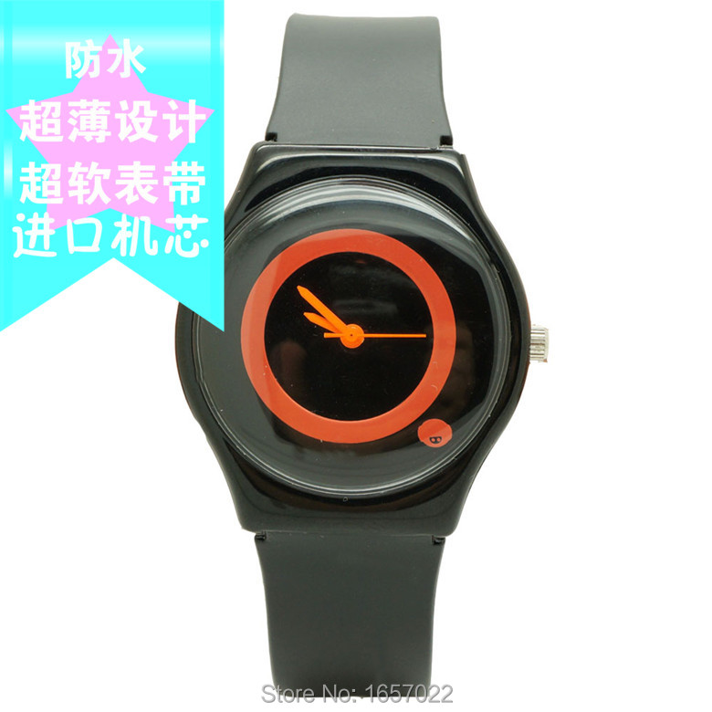New Arrived Women Simple Circles Dial Dresswatch Promotion Student High Quality Quartz Watch Without  Mark